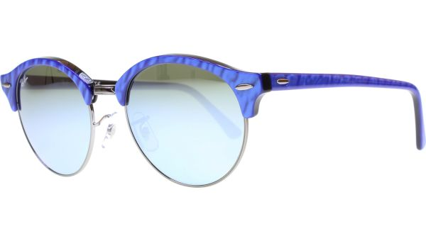 Clubround 4246 984/30 5119 Blue / Black von Ray-Ban