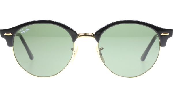 Clubround 4246 901 5119 Black von Ray-Ban