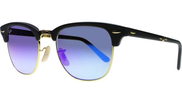 Clubmaster Folding 2176 901S7Q 5121 Matte Black / Gold von Ray-Ban