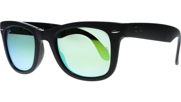Folding Wayfarer 4105 60694J 5022 Matte Black von Ray-Ban