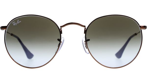 Round Metal 3447 900396 5021 Shiny Dark Bronze von Ray-Ban