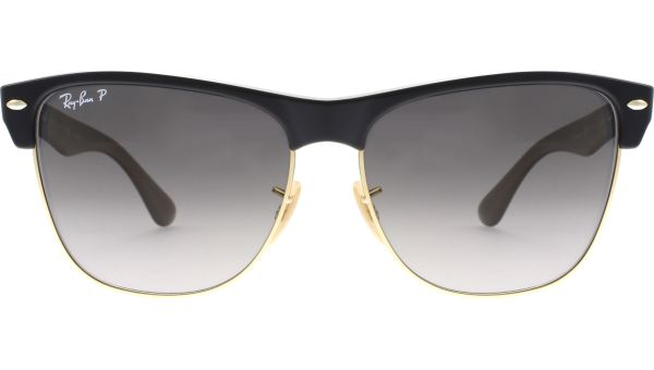 Clubmaster Oversized 4175 877/M3 5716 Demi Gloss Black von Ray-Ban