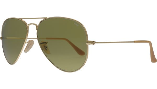 Aviator Evolve RB3025 90644C 5814 Gold von Ray-Ban