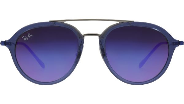 Junior RJ9065S 7037B1 4818 Transparent Blue von Ray-Ban
