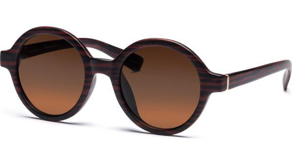 Sonnenbrille 4921 Schwarz/Braun von MAUI Sports