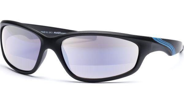 Sonnenbrille 6418 schwarz/blau von MAUI Sports