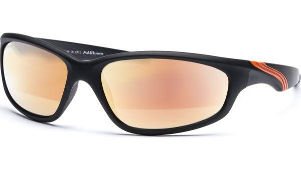 Sonnenbrille 6418 schwarz/orange von MAUI Sports
