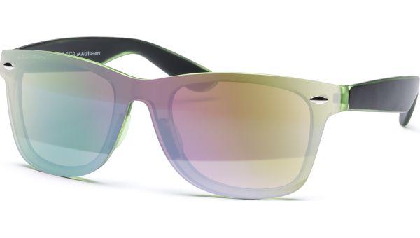 Sonnenbrille 5223 schwarz/grün von MAUI Sports