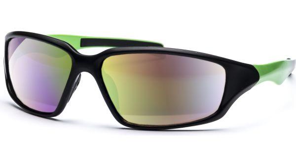 Sonnenbrille 6214 schwarz/grün von MAUI Sports