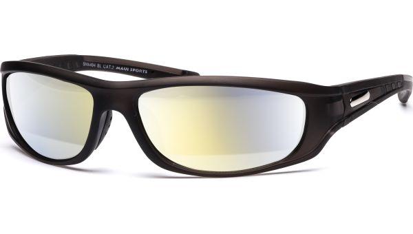 Sonnenbrille 5217 grau-transparent, silber von MAUI Sports