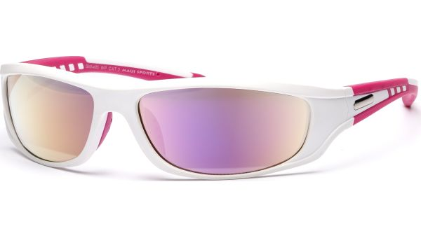 Maui Sports Sonnenbrille 5217 pink, weiß, silber von MAUI Sports
