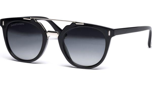 Maui Sports Sonnenbrille 4923 schwarz, silber von MAUI Sports