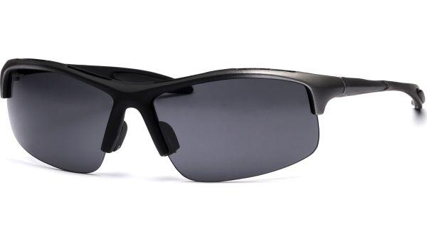 Sonnenbrille 5217 black/silver von MAUI Sports