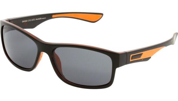 Sonnenbrille 5818 schwarz orange von MAUI Sports