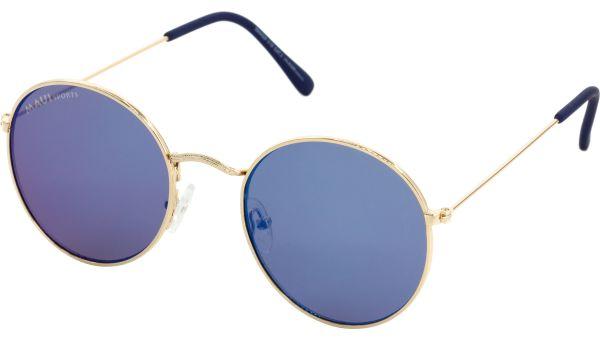 Sonnenbrille 5121 gold blau von MAUI Sports