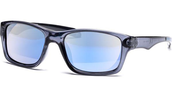Sonnenbrille 5422 Polarized Grau Transparent/Blau von MAUI Sports Polarized
