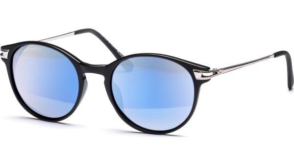 Sonnenbrille 4819 Polarized Matt Schwarz/Silber von MAUI Sports Polarized