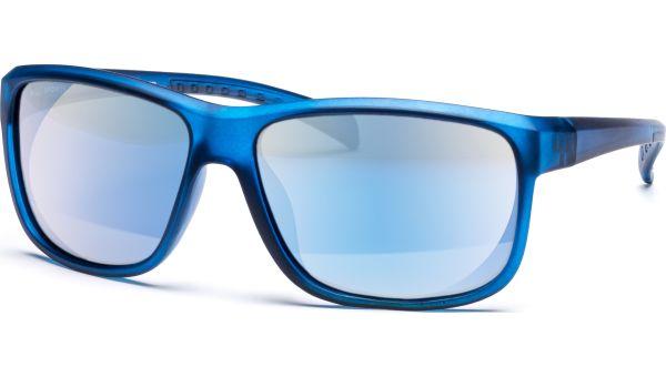 Sonnenbrille 5815 Polarized Matt Blau Transparent von MAUI Sports Polarized
