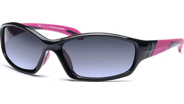 Sonnenbrille 6216 Polarized schwarz/pink von MAUI Sports Polarized