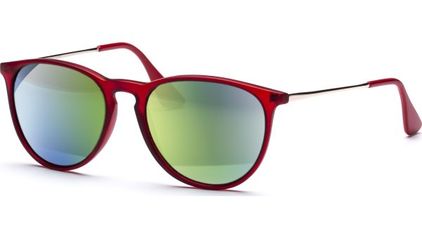 Sonnenbrille 5022 polarized rot/gold von MAUI Sports Polarized