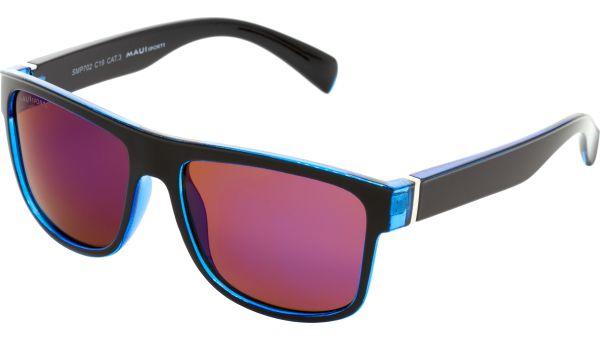 Sonnenbrille 5818 schwarz blau von MAUI Sports Polarized