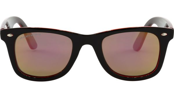 Maui Sports Sonnenbrille Polarized 4923 black / transparent red von MAUI Sports Polarized