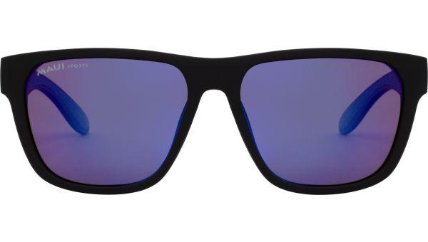 Maui Sports Sonnenbrille Polarized 5616 matt schwarz/blau von MAUI Sports Polarized