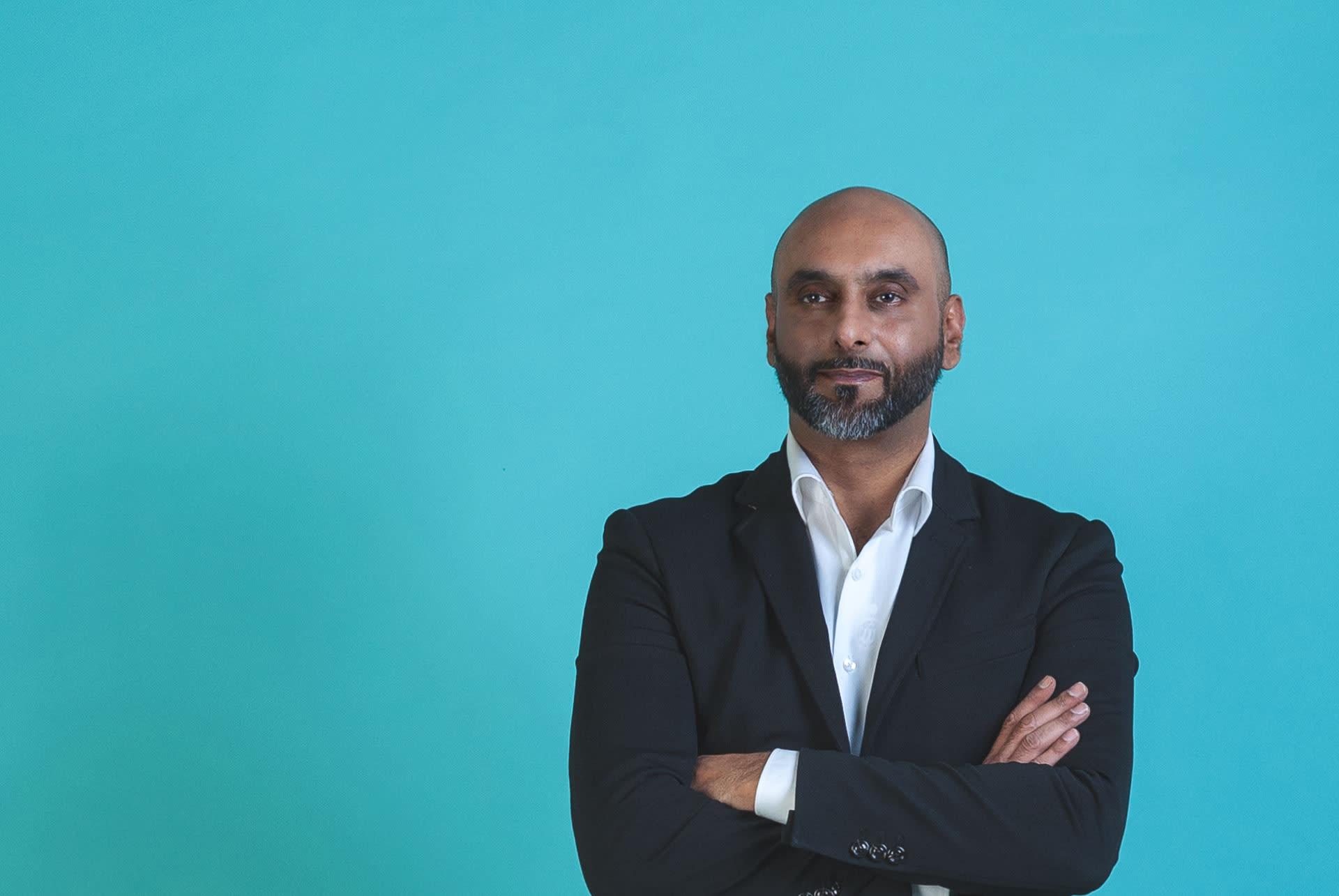 Asian Business man Azmat