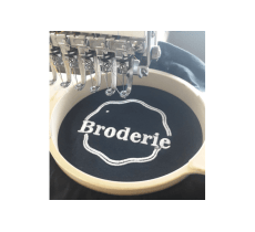 BRODERIE POUR VOS SUPPORTS TEXTILES