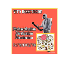 Sevice désinsectisation