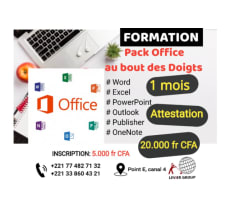 Formation sur Pack Office