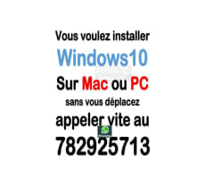 Installation de Windows sur Mac Book ou PC