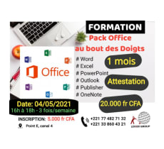 formation Pack Office