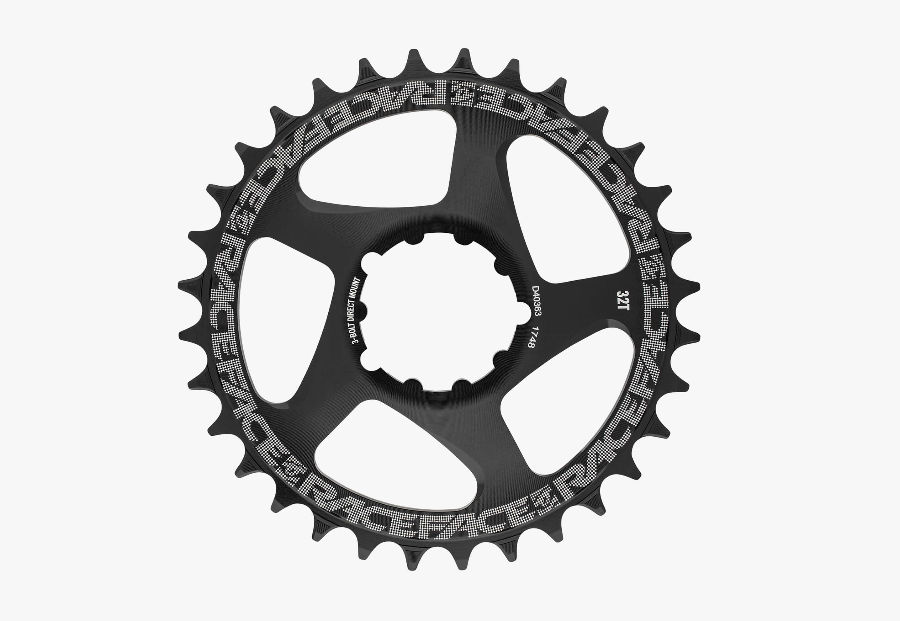 1x Chainring ,Direct Mount - 3 Bolt Compatible