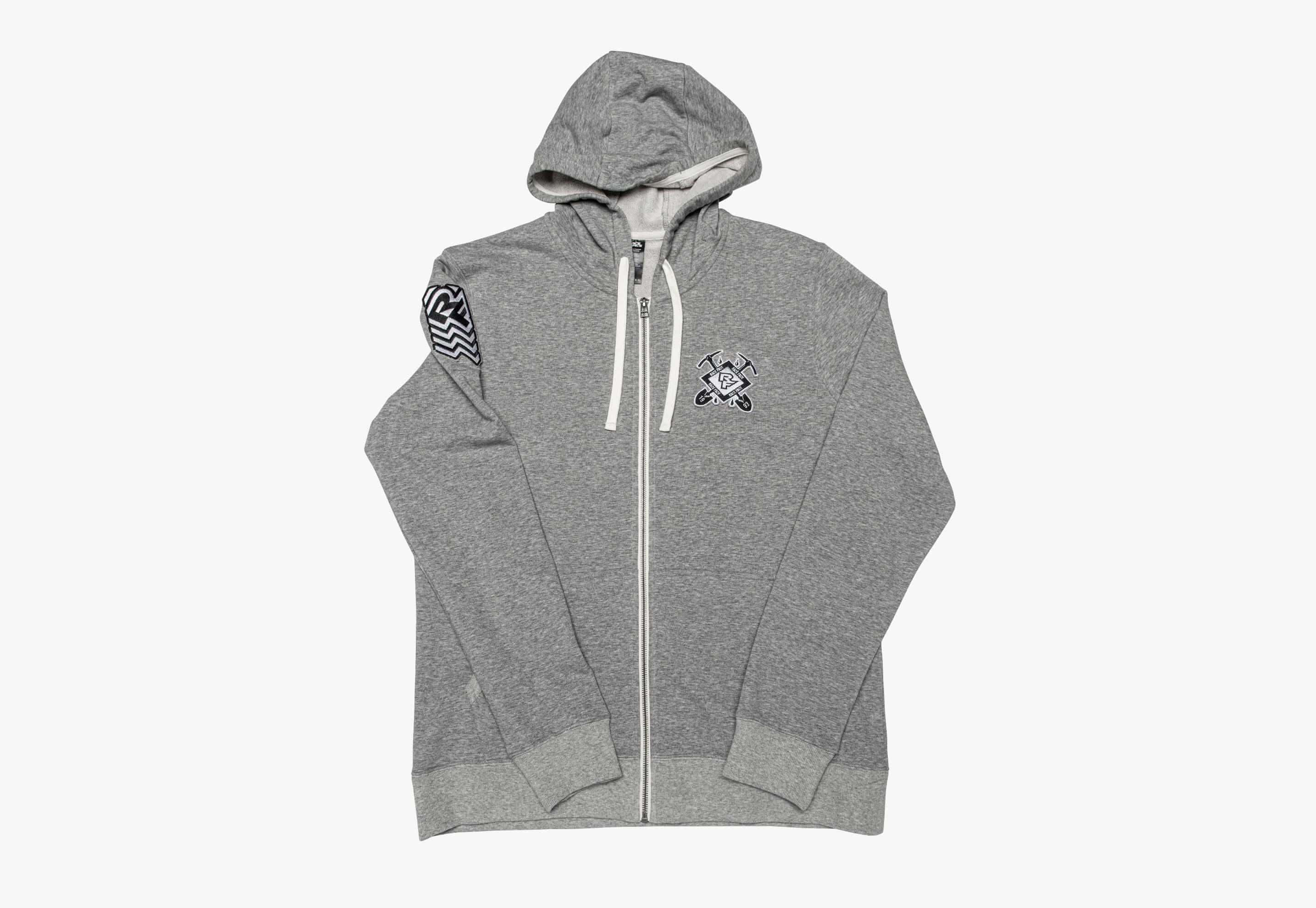 RF Crest Zip Hoody