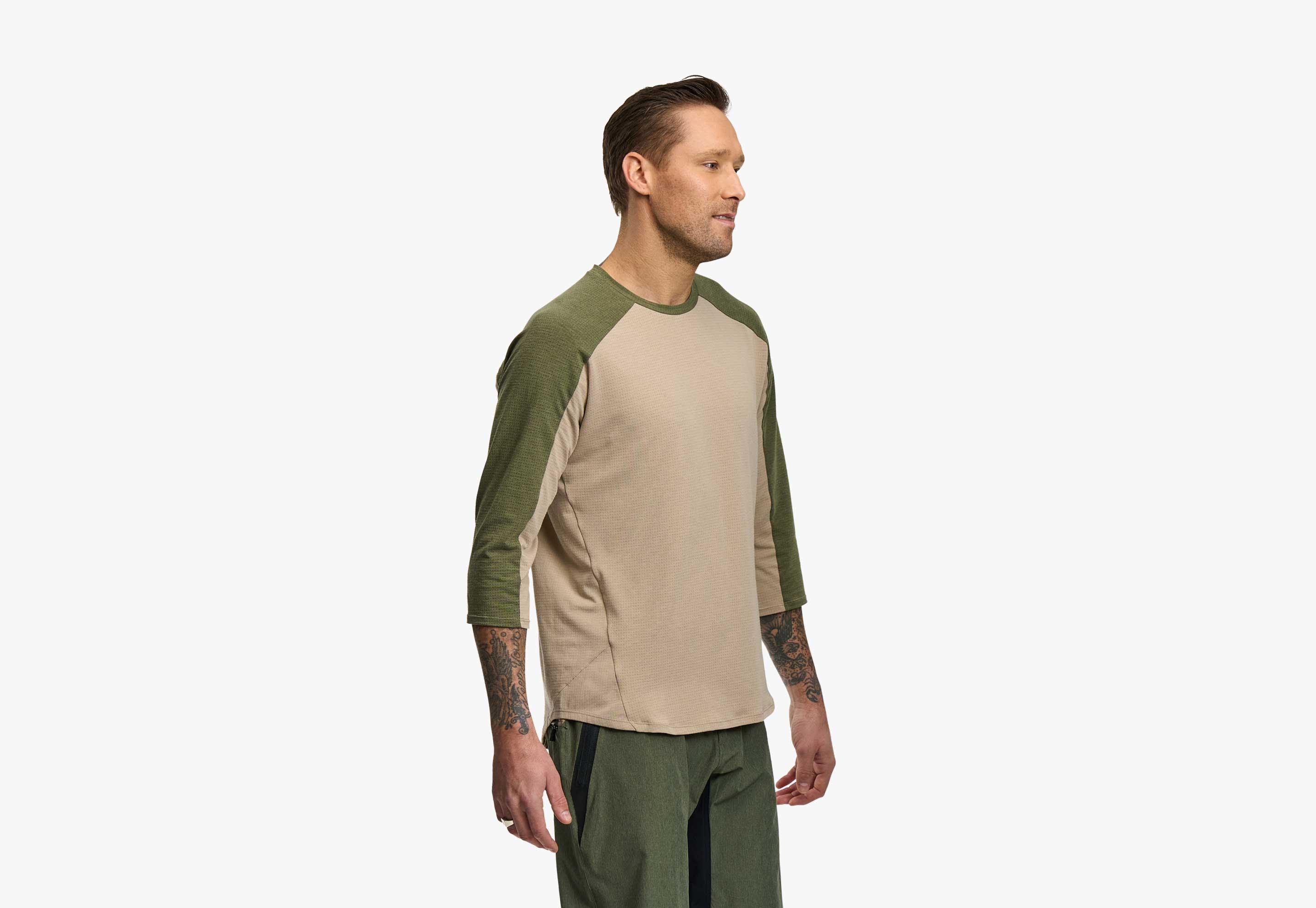 Stage DriRelease  3/4 Sleeve Jersey - Men's