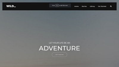 Adventure + NightMode Template
