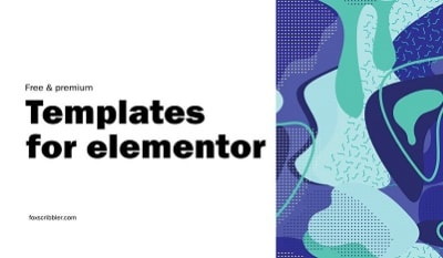 Elementor's free and paid Templates from 3rd parties vendor and Elementor's itself