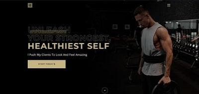 Fitness Envato template