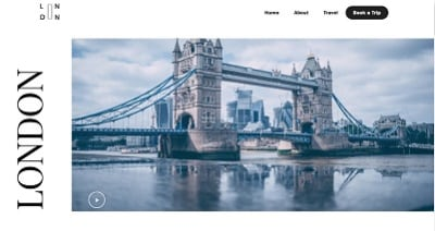 London Elementor Template