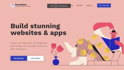 Foundation -Landing page