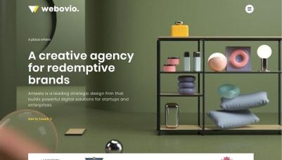 Webovio Elementor's Template