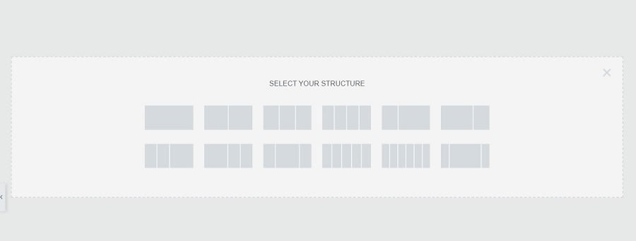 Third step is to create Structure of page