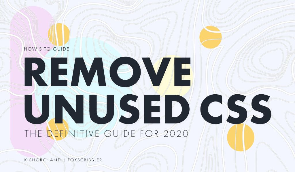 Remove Unused CSS in WordPress