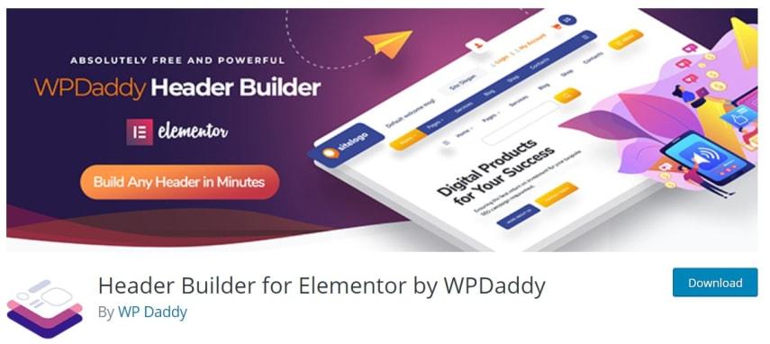Header Footer Builder By WPDaddy