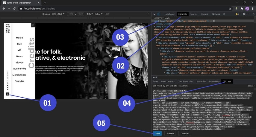 Used CSS chrome extension automatically add dynamically injected CSS by interacting