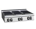 Koketopp 6 kokeplater, C-E960 Fagor