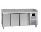 Kjøledisk, Granittopp, 4 dører 1/1GN,  L=2250mm MFP-225GN Fagor