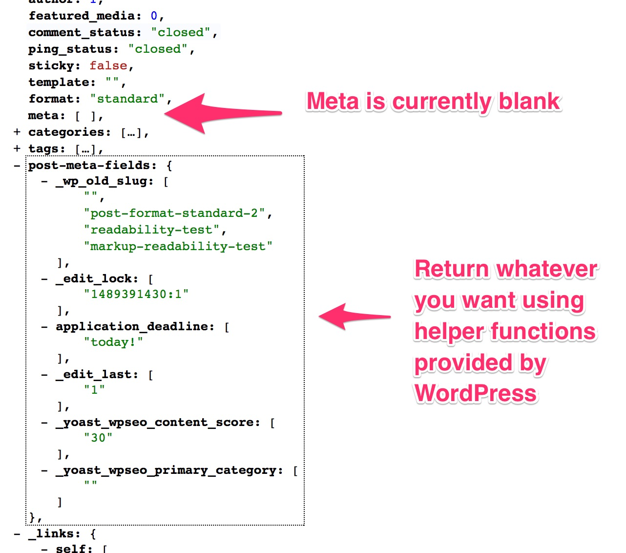 Getting Post Meta for the WP REST API | All the Things