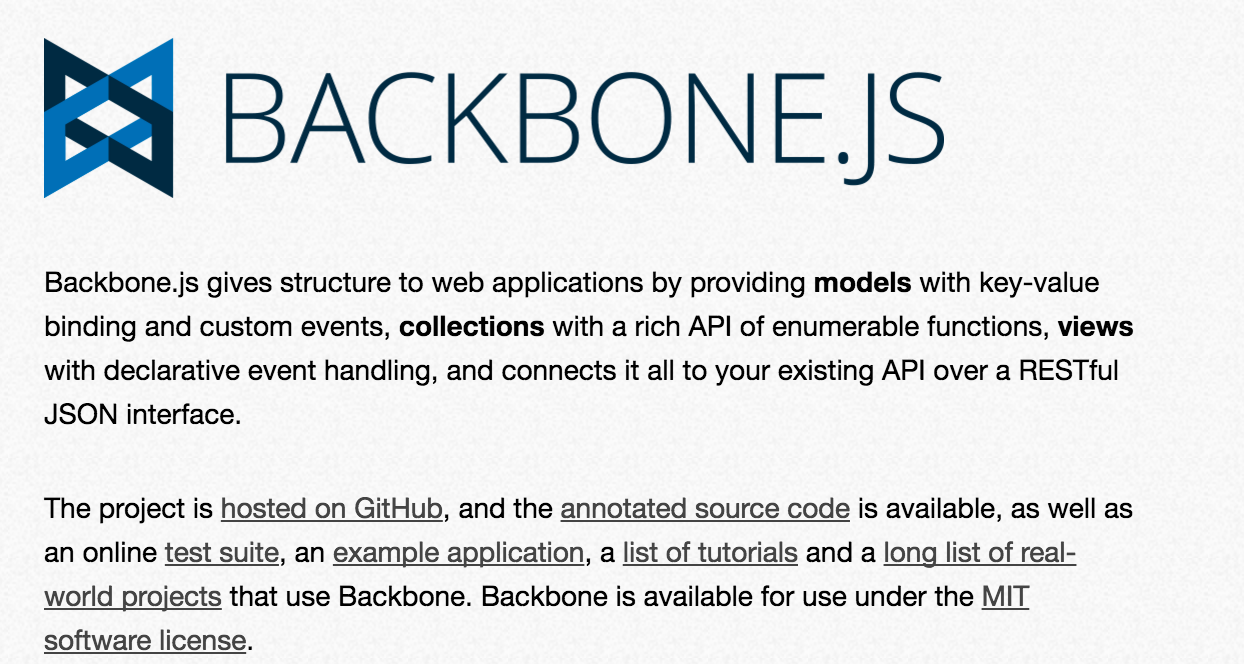 Getting Familiar with Backbone.js